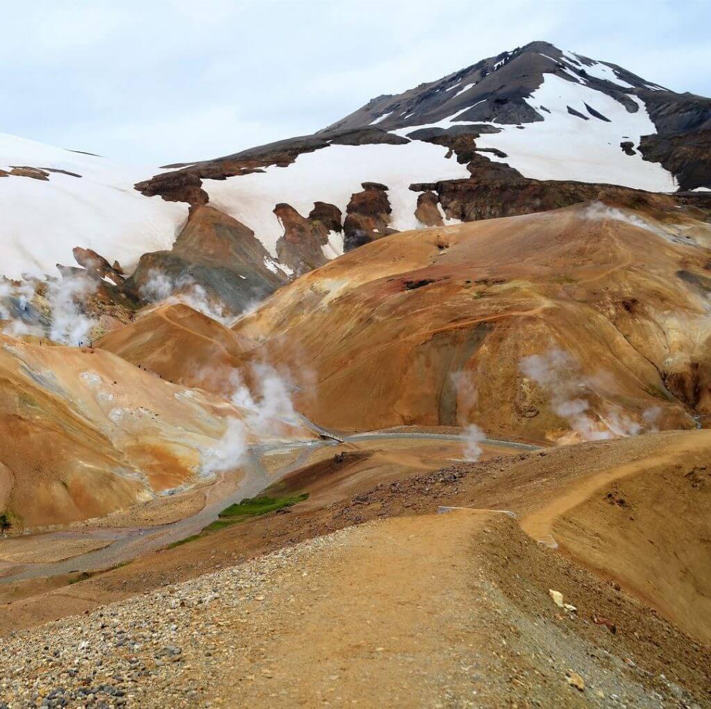 Kerlingarfjöll im Hochland von Island