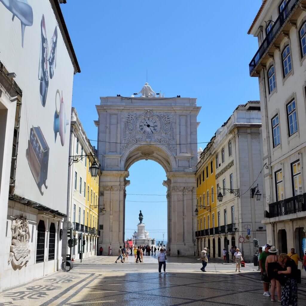 Sehenswürdigkeiten Lissabon Praca do Commercio