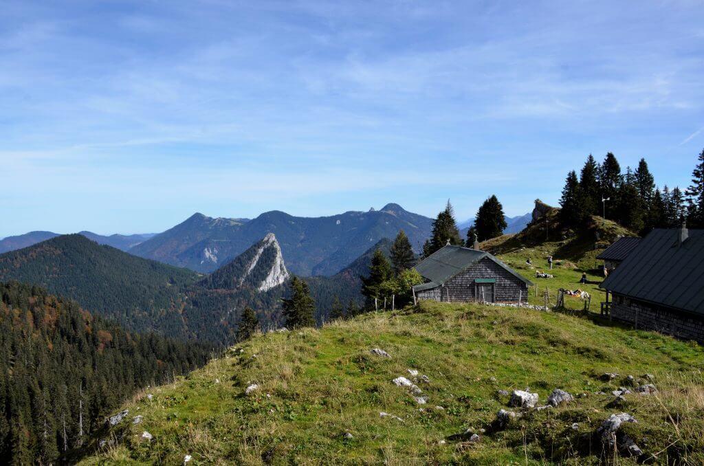 Auf dem Weg zur Tegernseer Hütte