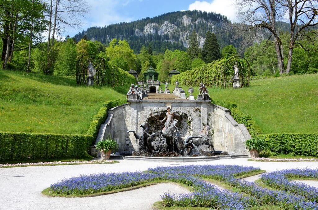 Park Schlosspark Linderhof