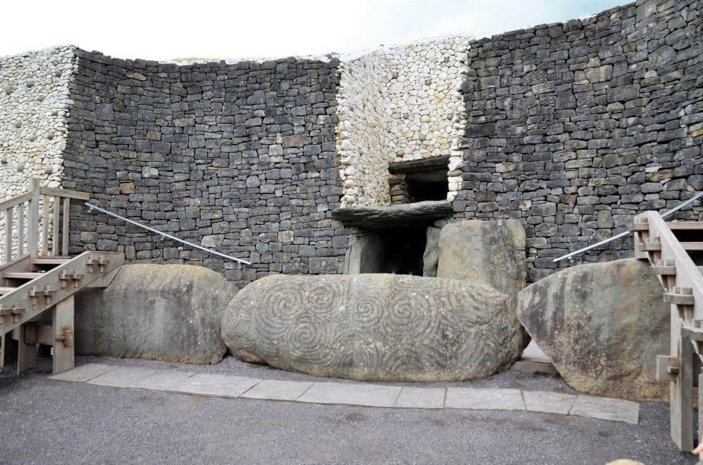 Alte Grabanlage bei Dublin
