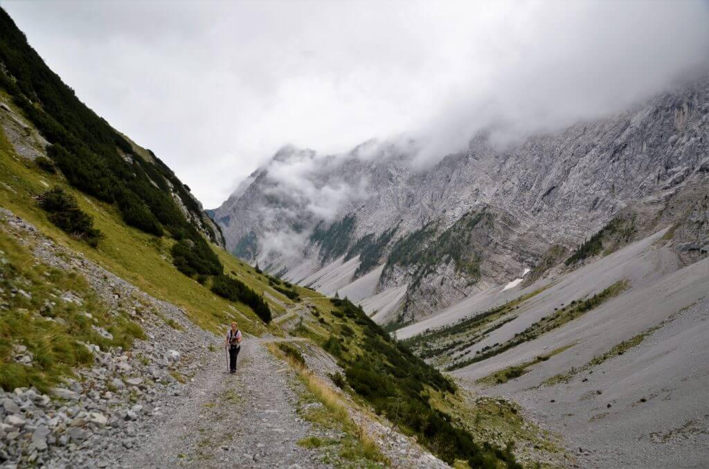 Wanderung Lamsenjochhütte