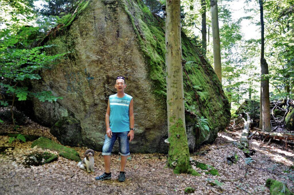 Felswandergebiet Bayerischer Wald