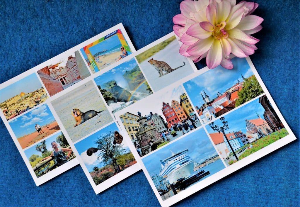 Individuelle Postkarten