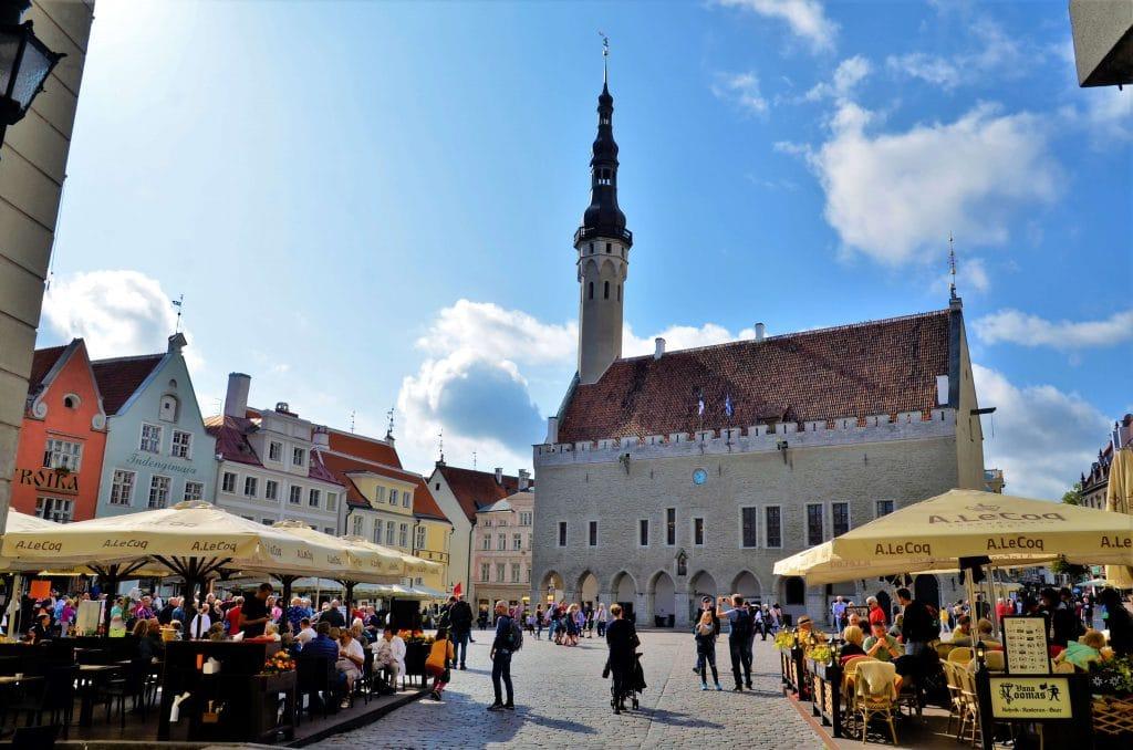 Marktplatz von Tallin