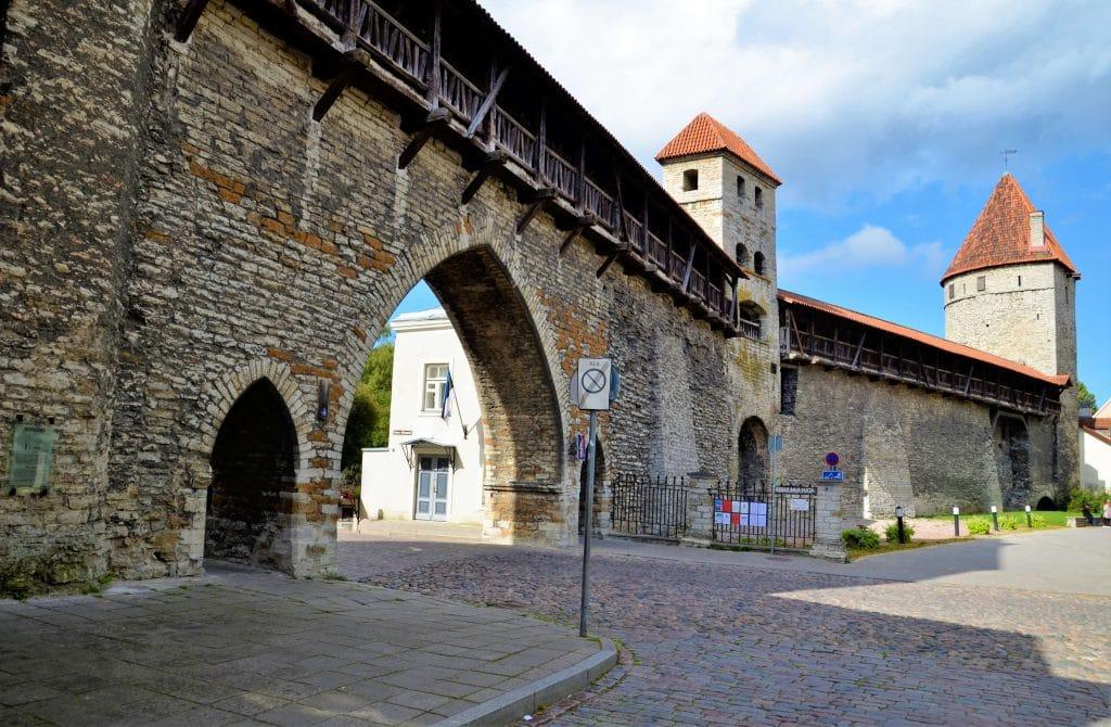 Alte Stadtmauer von Tallin