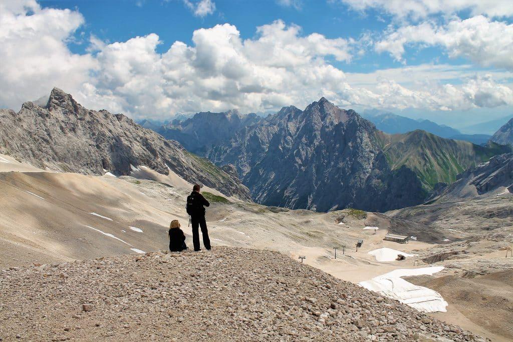 Aussicht auf die umliegenden Berge