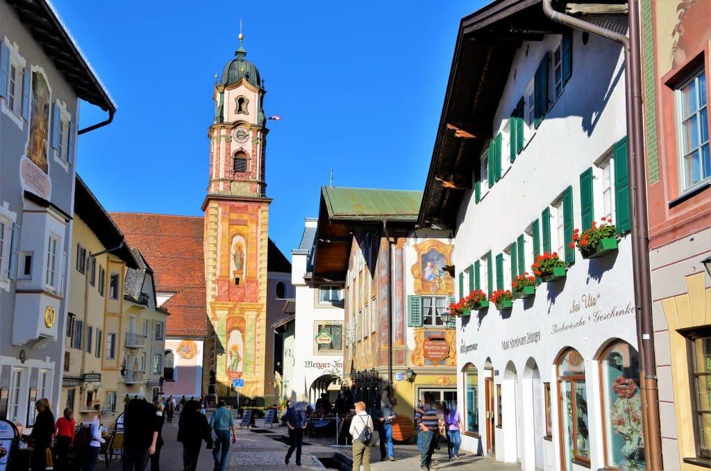 Kirche von Mittenwald