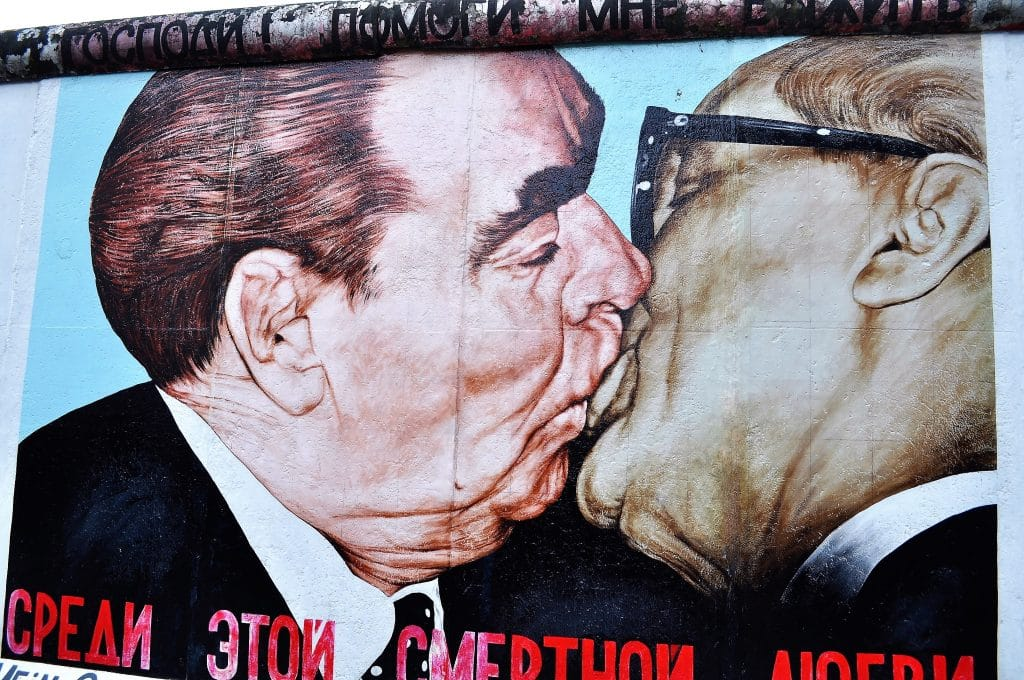 Kunst an der East Side Gallery