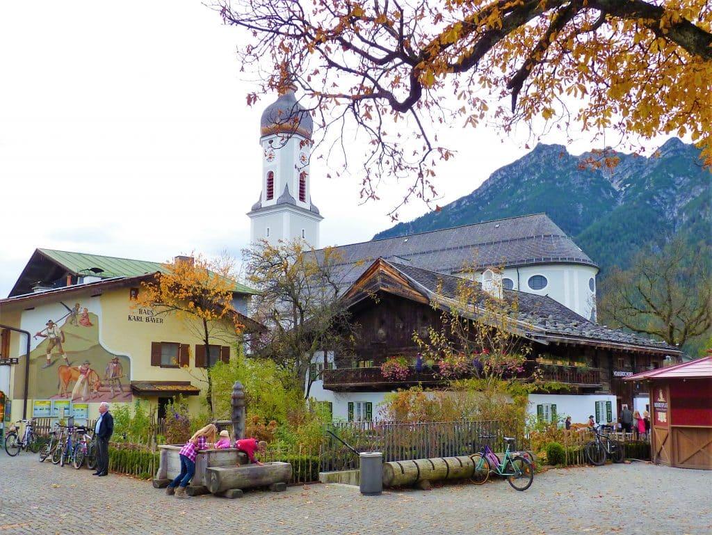 Marienplatz in Garmisch