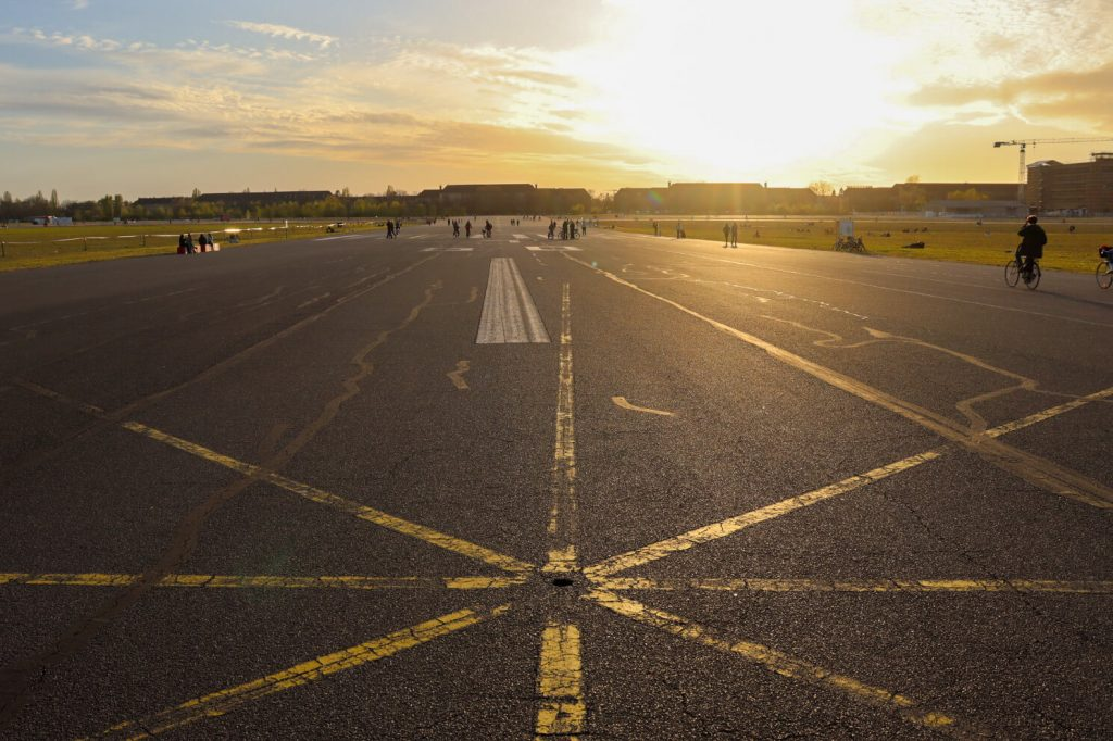Tempelhofer Feld in Berlin