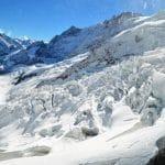 Mit der Bahn aufs Jungfraujoch - Wanderung im ewigen Eis