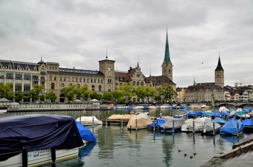 Sehenswürdigkeiten in der Altstadt von Zürich