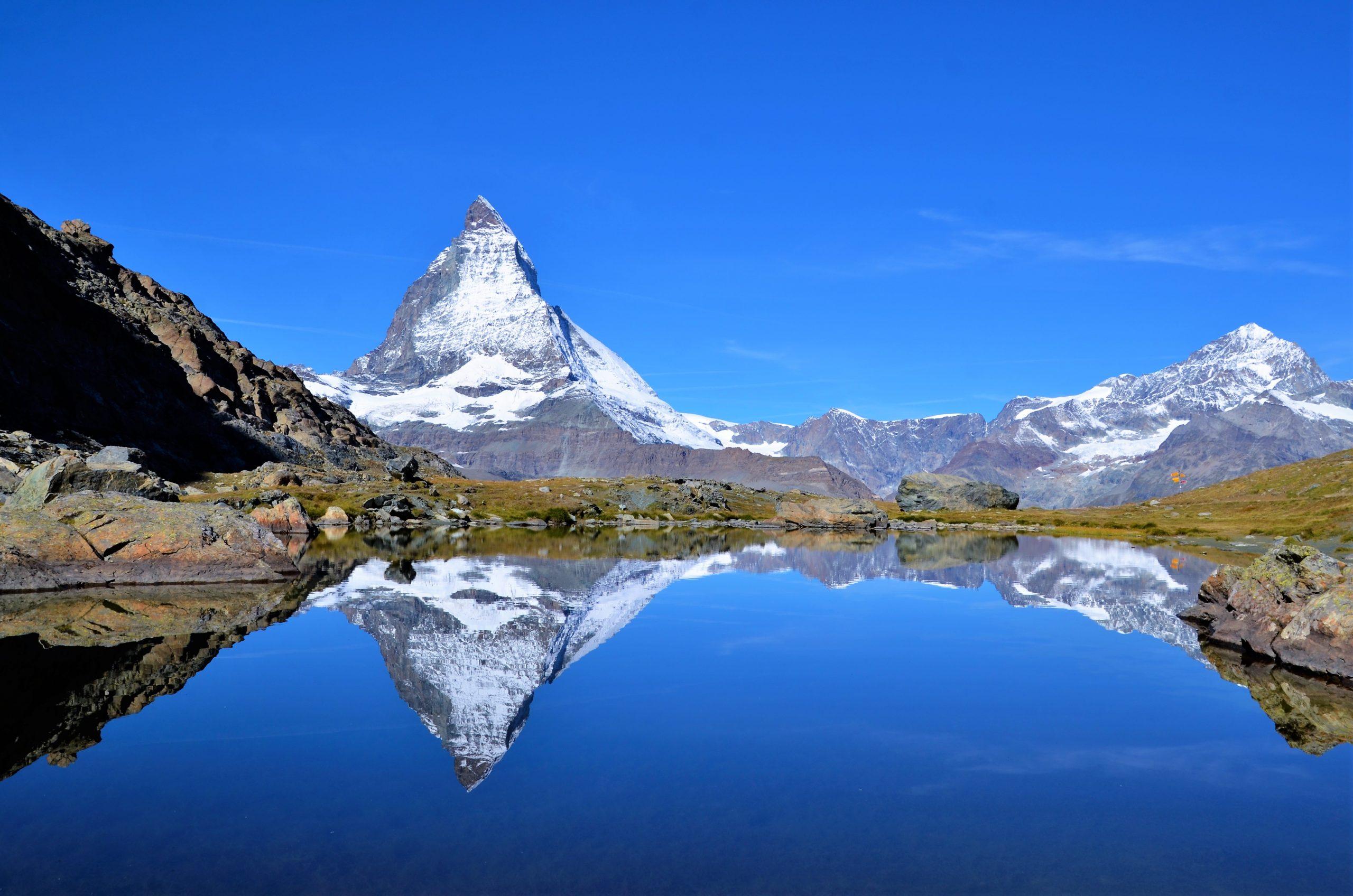 Das Matterhorn im Kanton Wallis