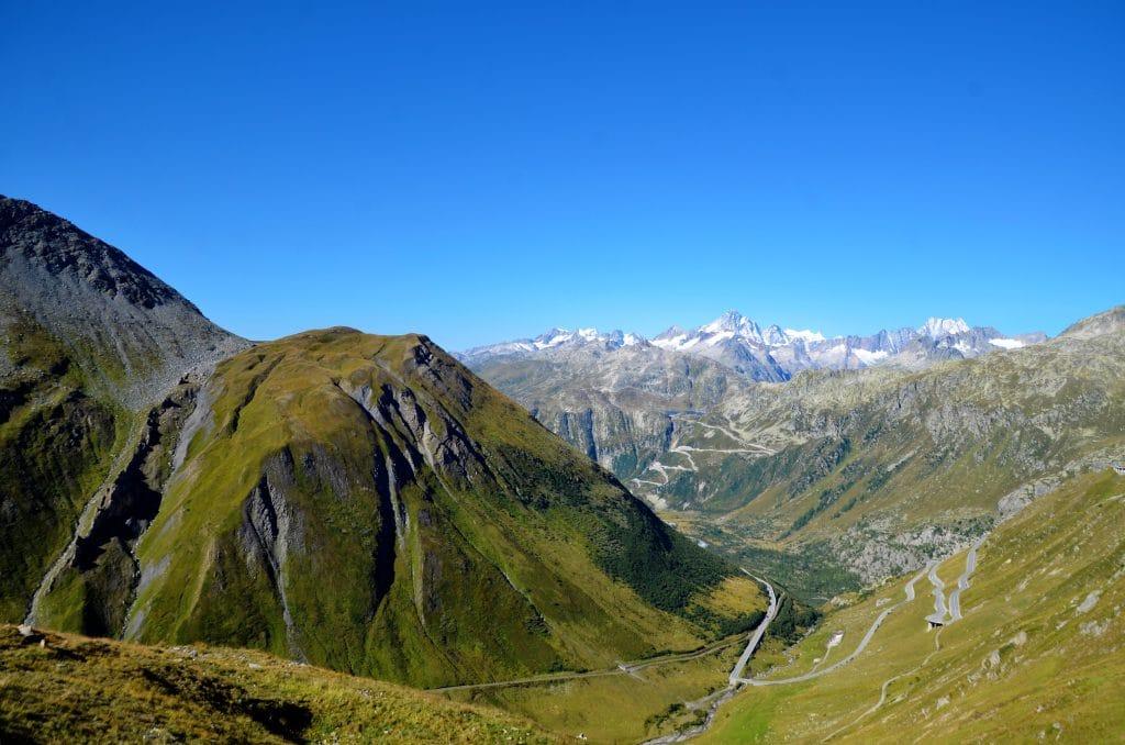 Über den Gotthardpass ins Tessin