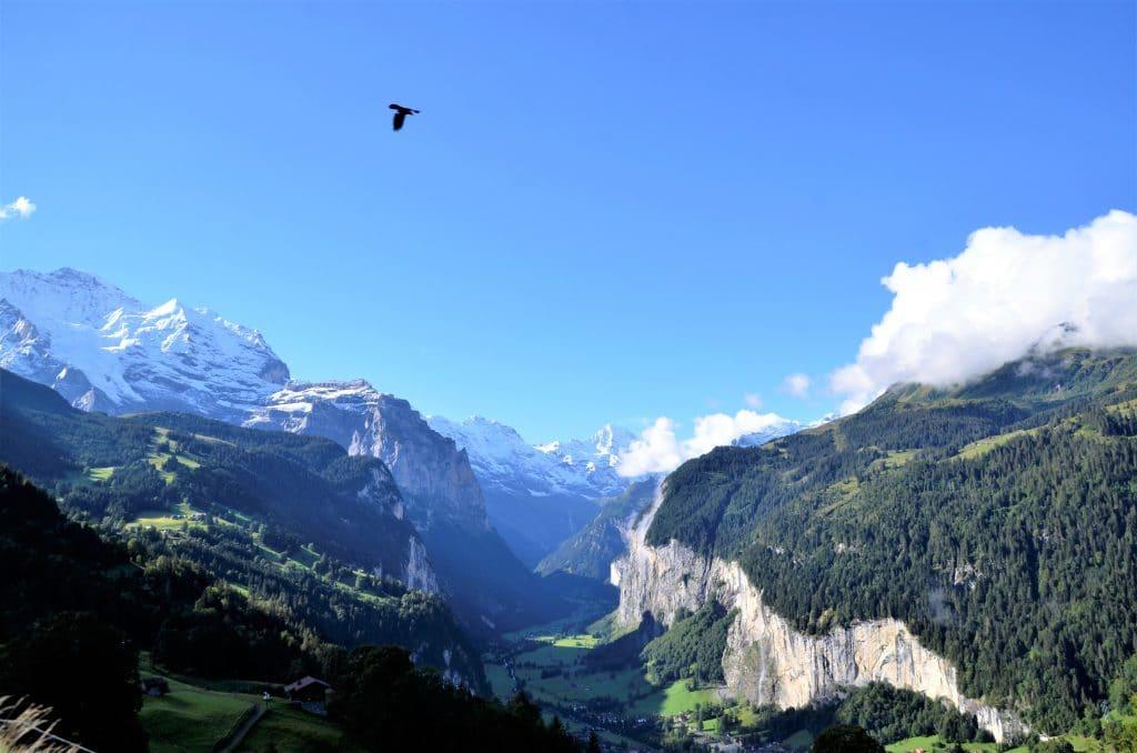 Mit der Bahn aufs Jungfraujoch