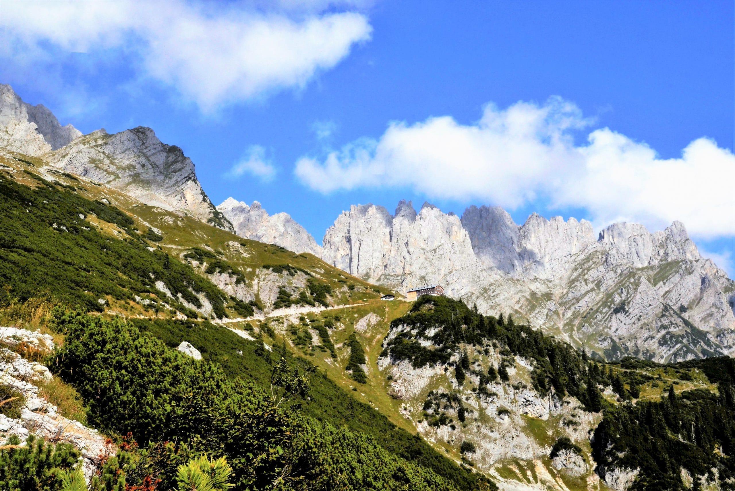 Wanderung Wilder Kaiser - die Gruttenhütte