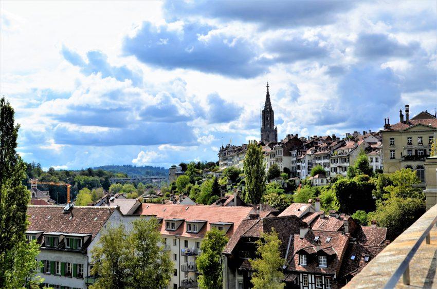 Sehenswürdigkeiten Bern Aussicht Nydeggbrücke
