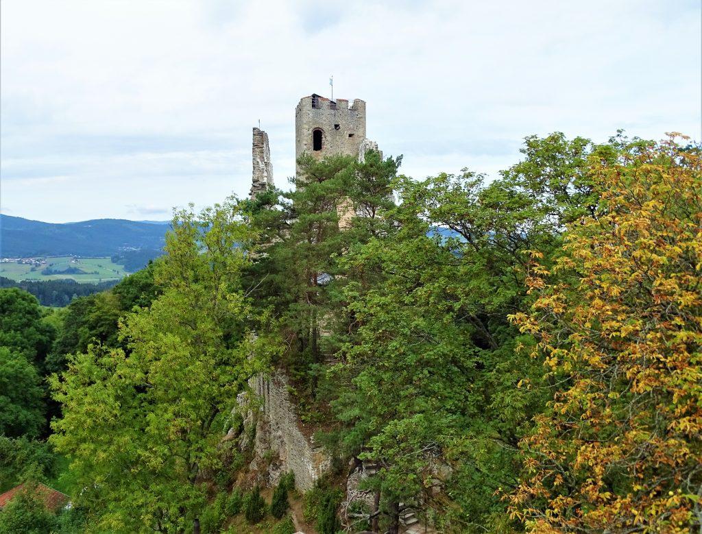 Pfahl Bayerischer Wald Burgruine Weißenstein