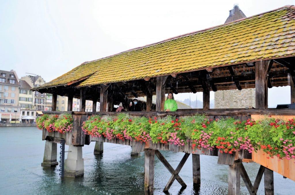 Sehenswürdigkeiten Luzern - Wasserturm und Kapellbrücke
