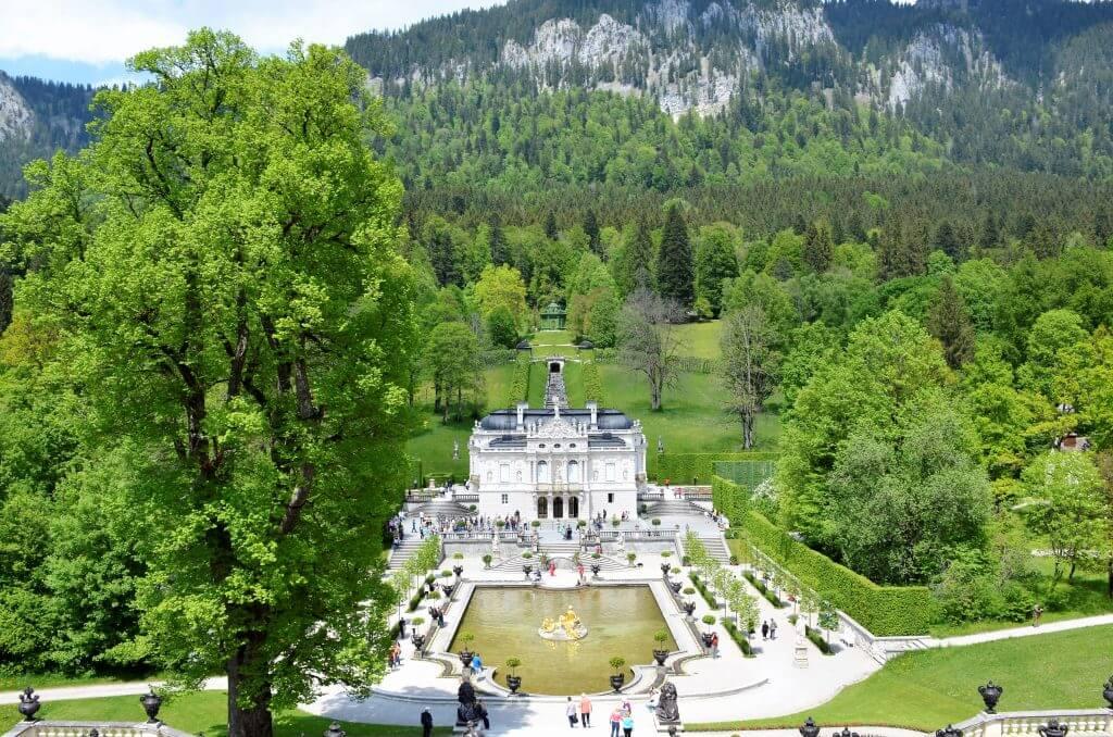 Sehenswürdigkeiten Schloss Linderhof