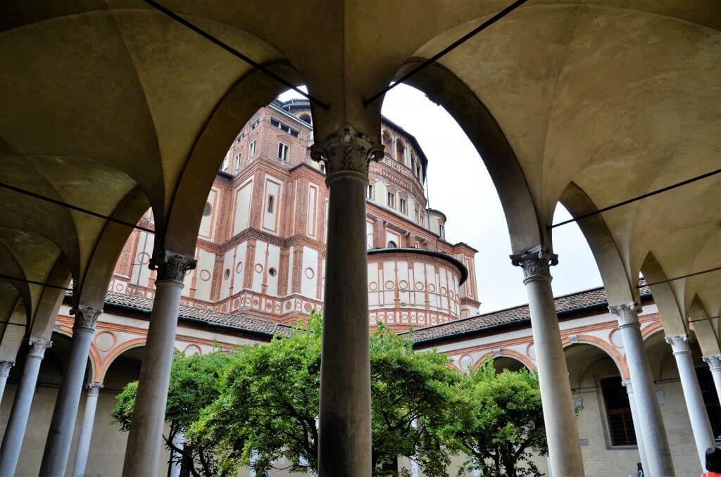 Sehenswürdigkeiten Maria Delle Grazie Mailand