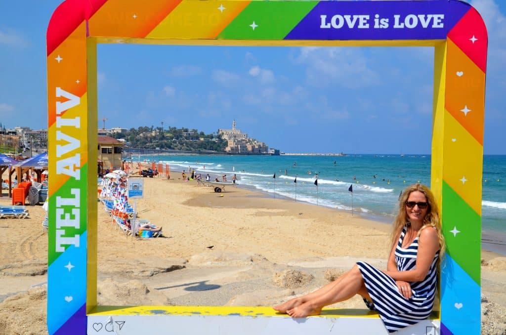 Blick auf Jaffa