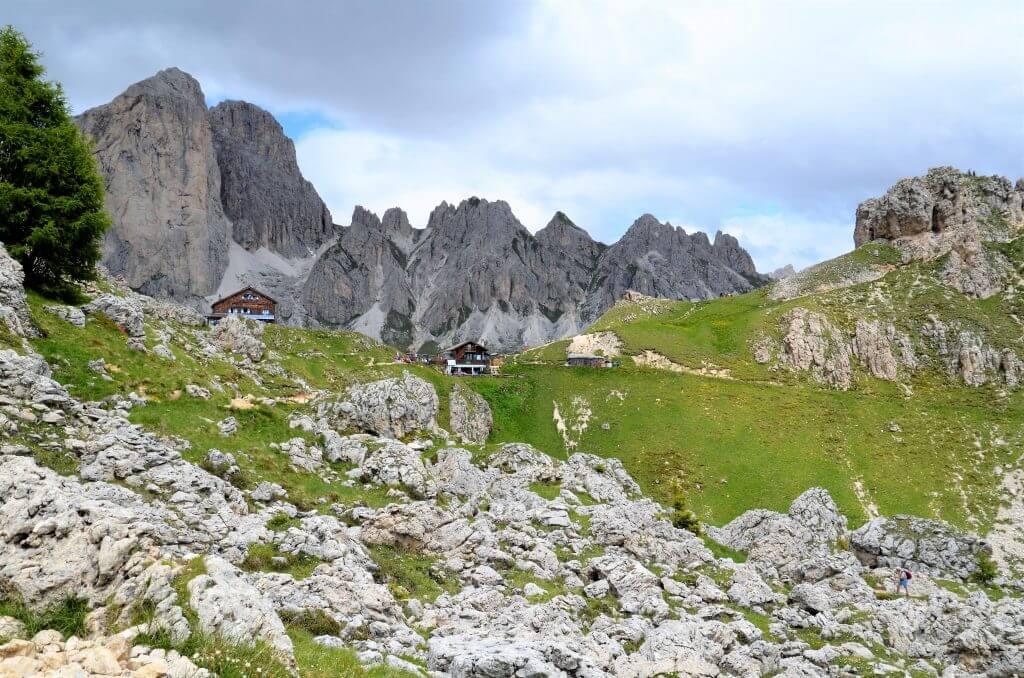 Wandern in den Dolomiten in Südtirol