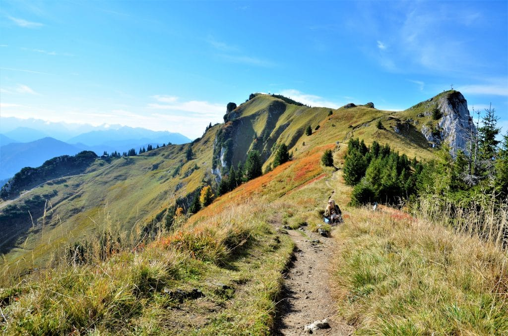 Brauneck wandern Gratweg