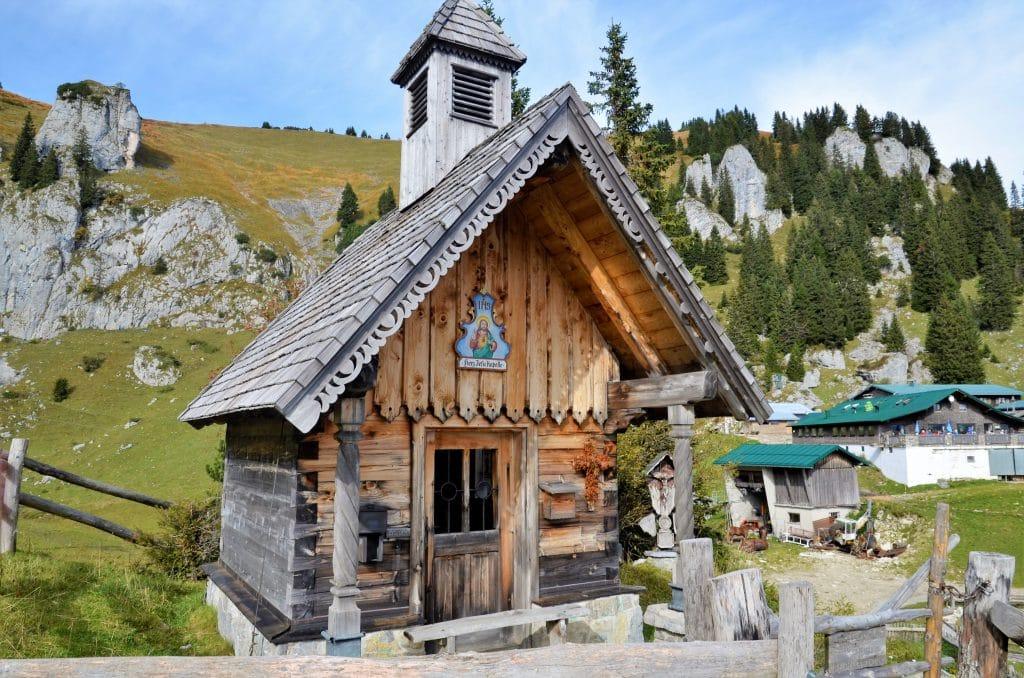 Kapelle an der Stie-Alm