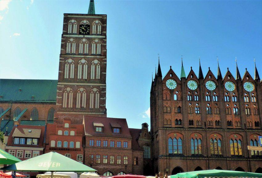 Sehenswürdigkeiten Stralsund Marktplatz