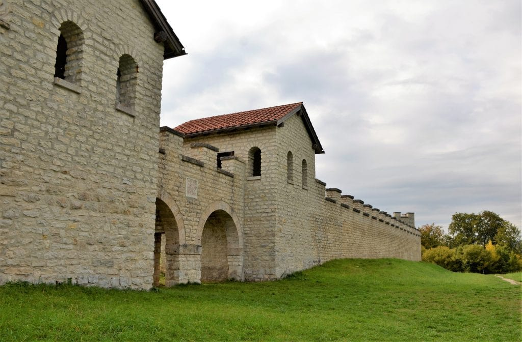 Das römische Kastell Castra Vetoniana