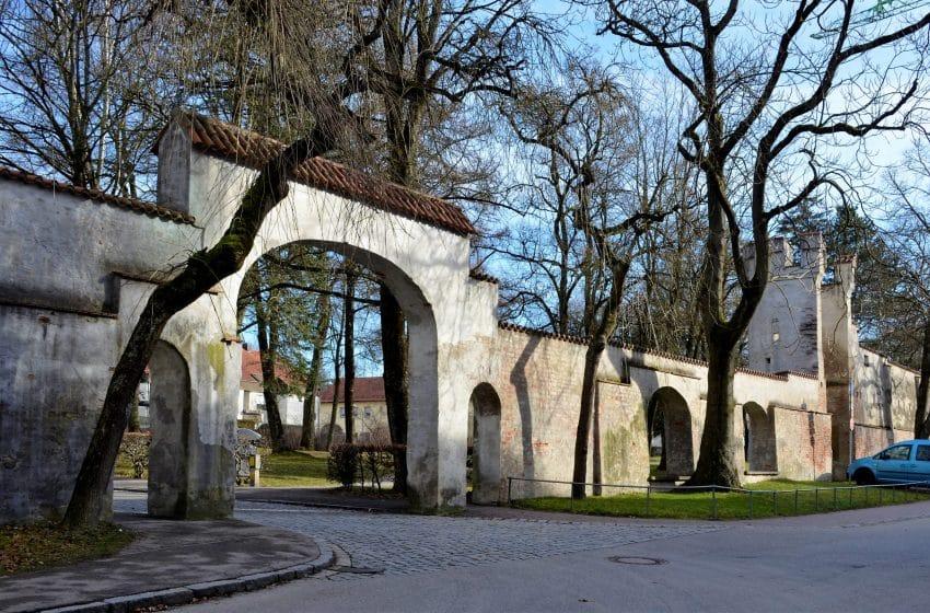 Historische Stadtmauer Landsberg