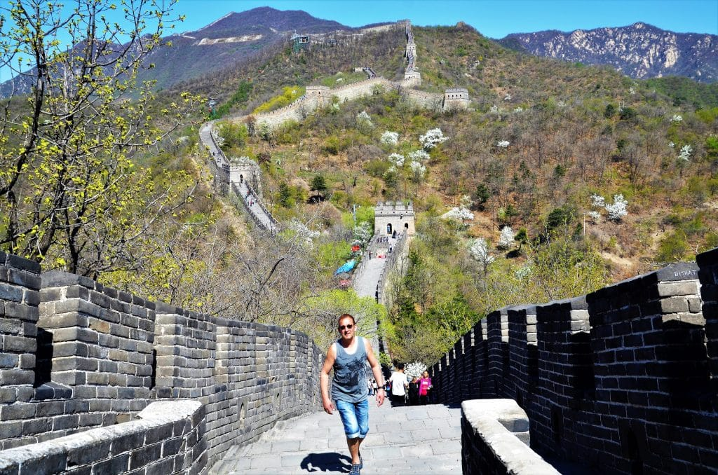 Unterwegs auf der Chinesischen Mauer
