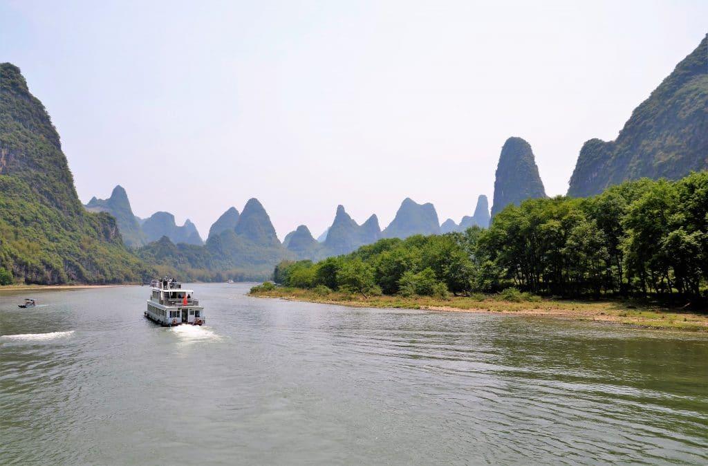 Bootsfahrt auf dem Li-River