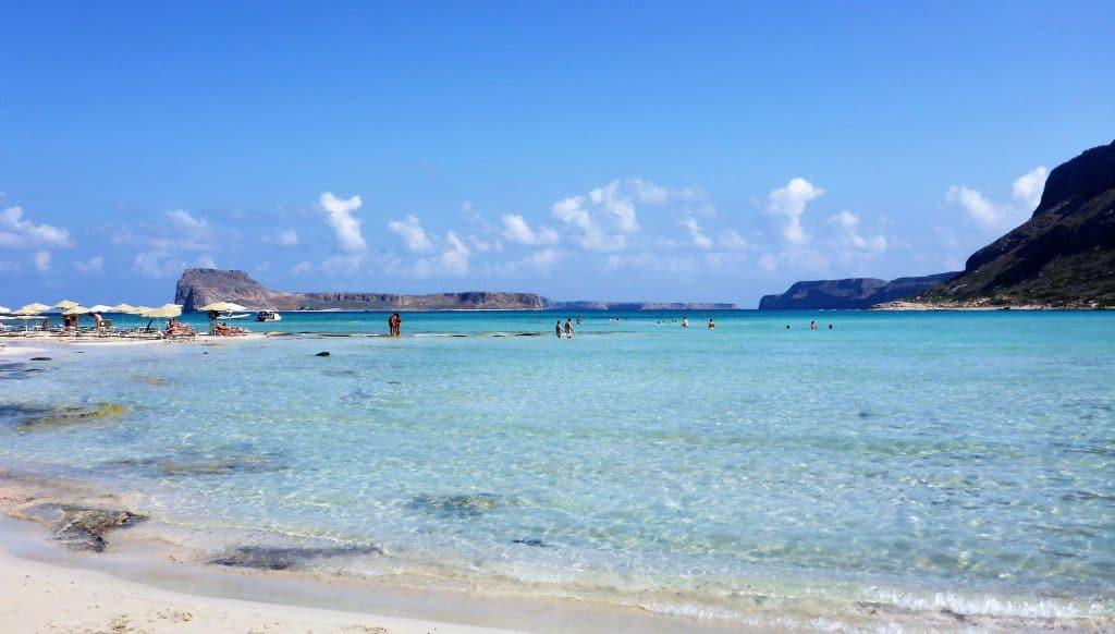 Der Strand am Balos Beach