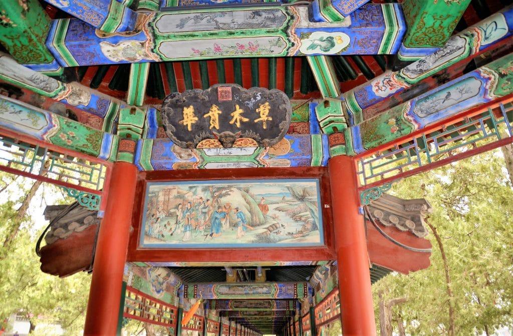Wandelgang am Kunming-See