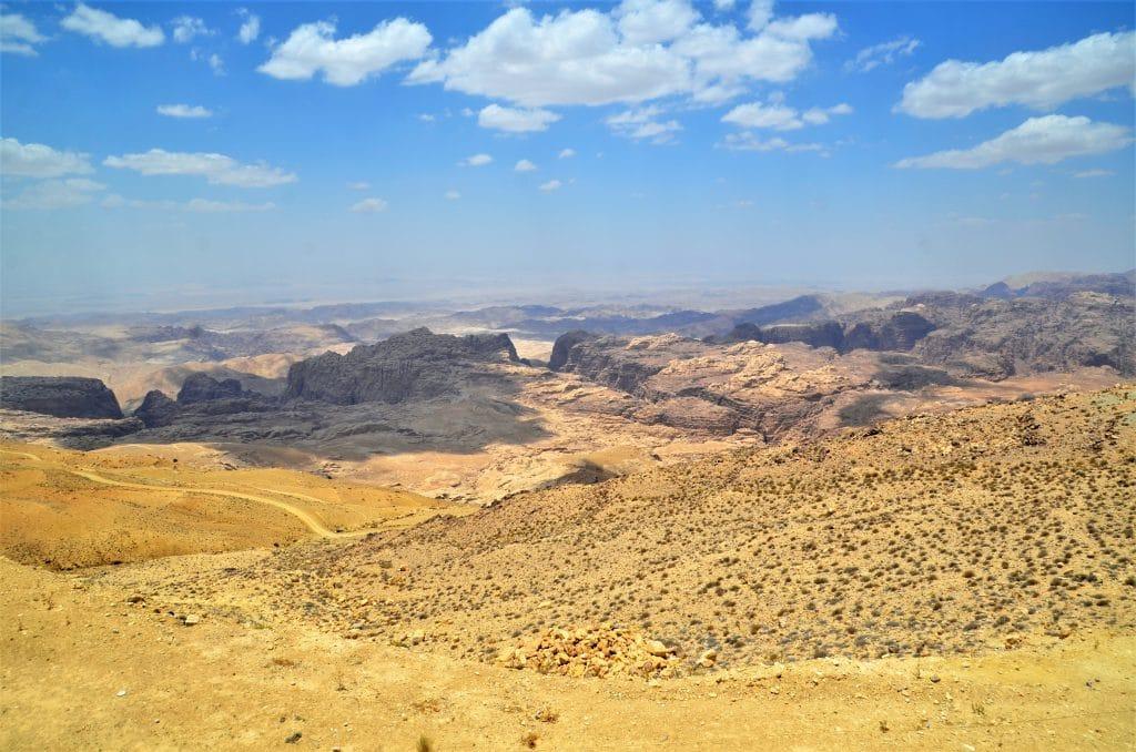 Blick über das Bergland von Edom