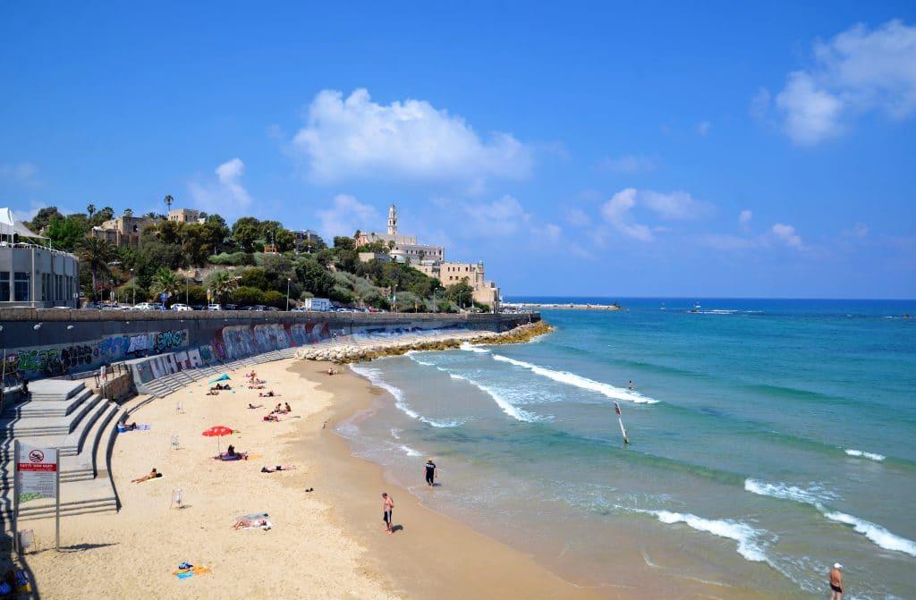 Strand bei Jaffa
