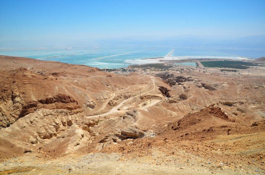 Aussichtspunkt mit Blick auf das Tote Meer