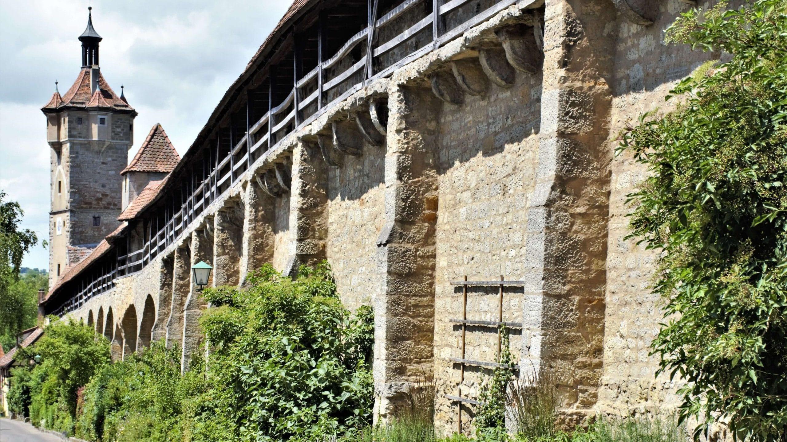 Stadtmauer aus dem Mittelalter