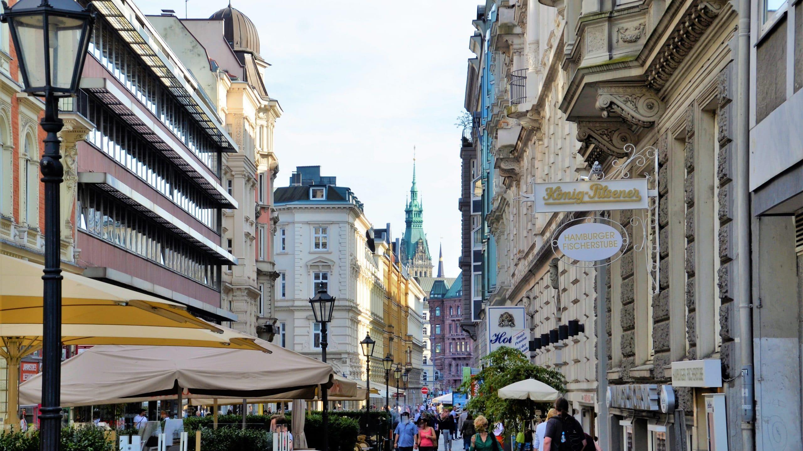 Colonnaden in Hamburg
