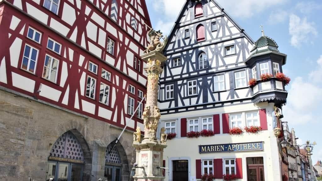 Sehenswürdigkeiten von Rothenburg ob der Tauber