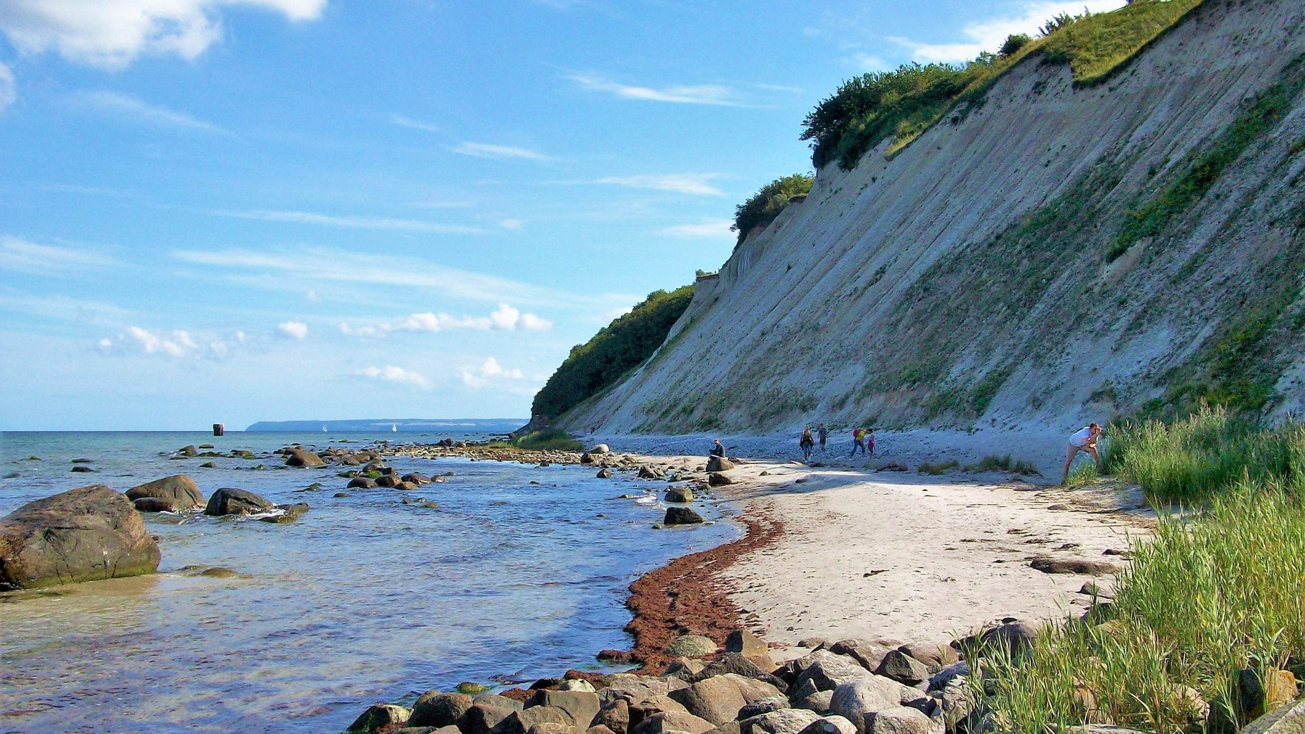 Sehenswürdigkeiten Rügen Strand am Kap Arkona