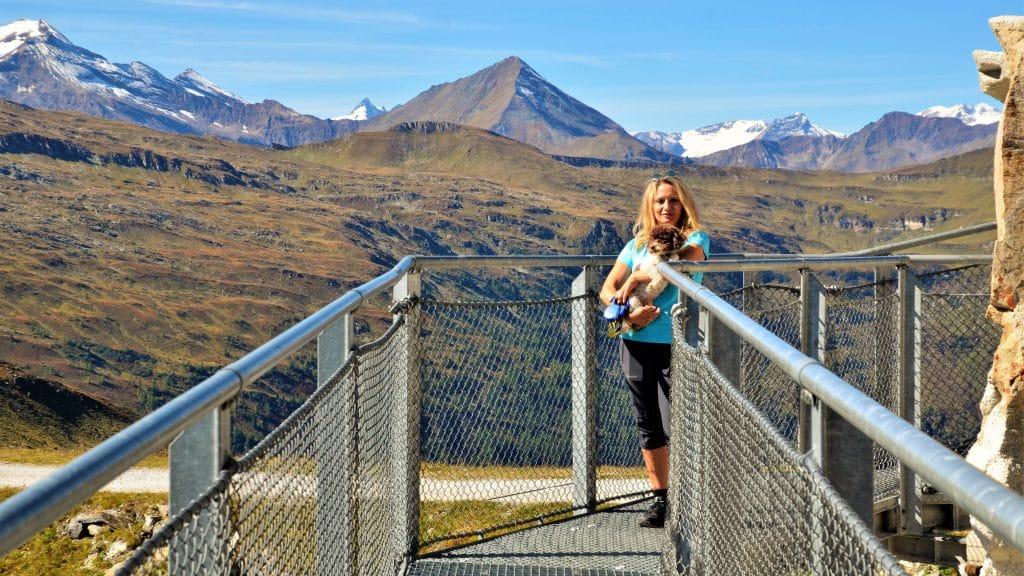 Auf dem Weg zur Aussichtsplattform auf dem Felsenweg