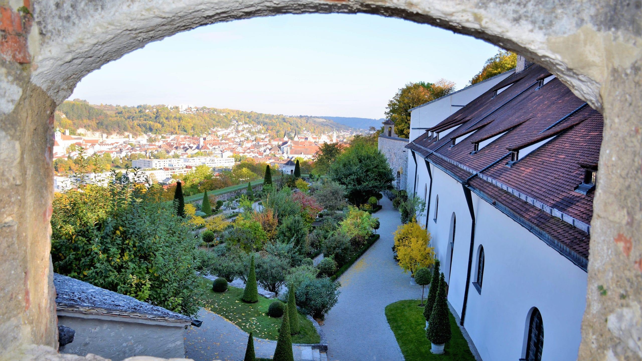 Blick auf den Bastionsgarten