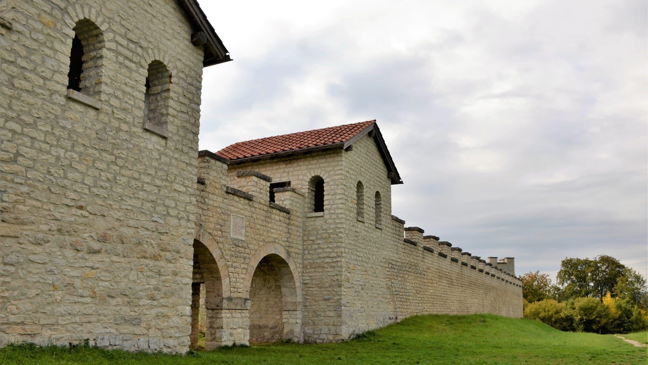 Sehenswürdigkeiten Eichstätt Das römische Kastell Castra Vetoniana