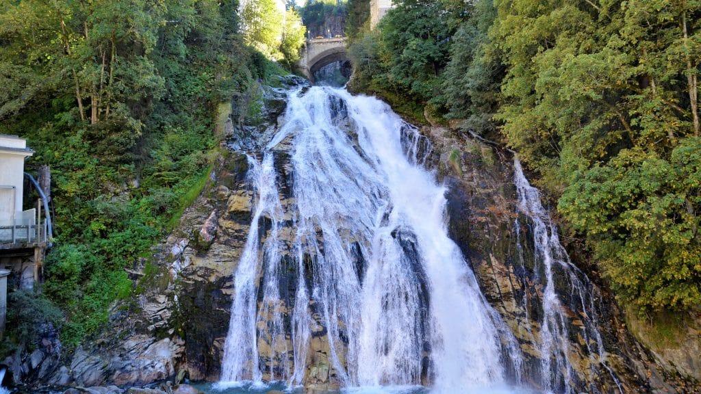 Sehenswürdigkeiten Bad Gastein Wasserfall von Bad Gastein