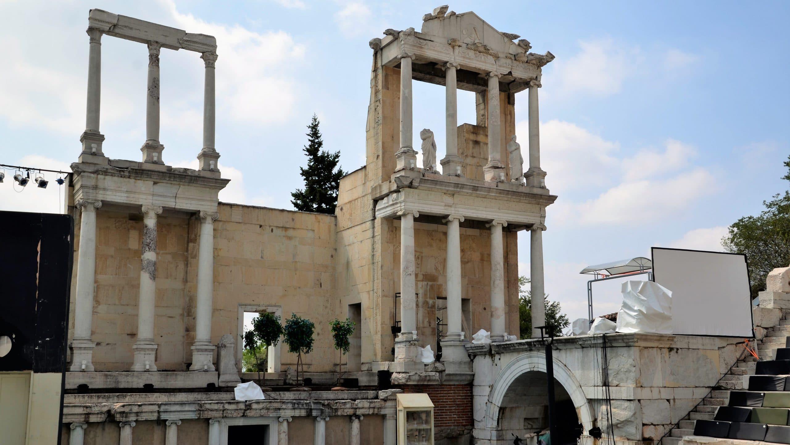Römisches Theater in Plovdiv Sehenswürdigkeiten Bulgarien