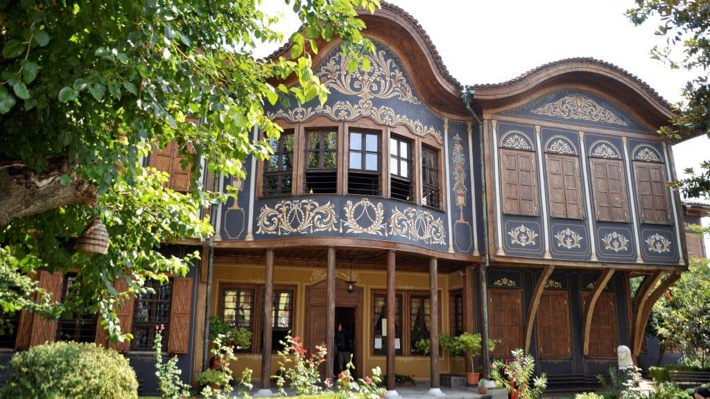 Wiedergeburtshäuser Plovdiv - Volkskundemuseum Sehenswürdigkeiten Plovdiv